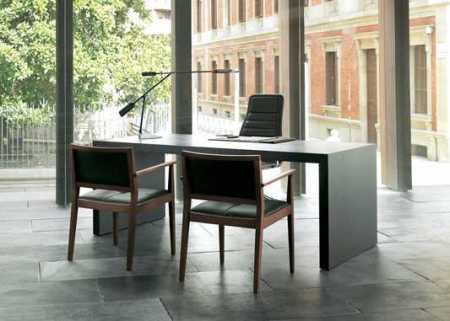 Ambiente ejecutivo con sillas Marsella